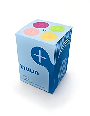 Nuun Active Hydration, Electrolyte Enhanced Drink Tablets, Original Mixed Flavor 4-pack: Lemon+Lime, Tri-Berry, Orange, Citrus Fruit (4 Tubes/12 Tabs Per Tube)