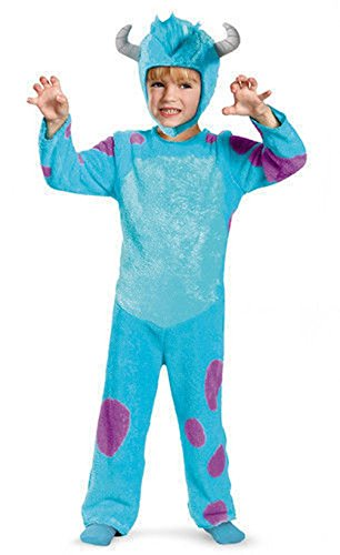Mememall Pixar Monsters University Sulley Toddler Boys Furry Halloween Costume