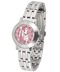 Wyoming Cowboys Dynasty Ladies Watch with Mother of Pearl Dial by SunTime