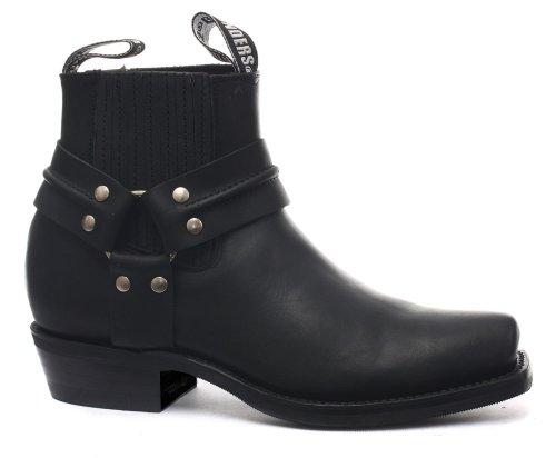 Grinders Renegade Lo Black Mens Cowboy Boots