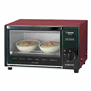 Amazon Com Red Toaster Oven Zojirushi Et Wa22 Ra Kitchen