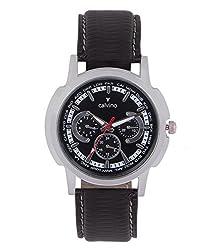 Calvino s Black Dial Watch CGAS_142118INT_BlkBlk