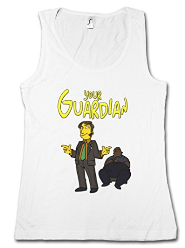 YOUR GUARDIAN SAUL GOODMAN DONNA TOP - Breaking Better Call TV Bad Saul DONNA TOP Taglie S - XL