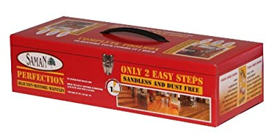 SamaN KR-35 Perfection Sandless and Dust-free Satin Floor Restorer Kit