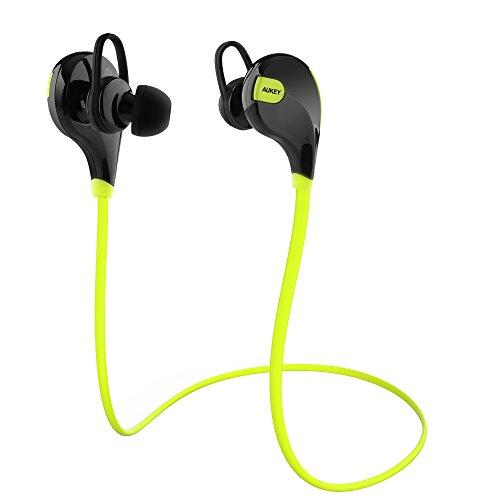 Recensione Cuffie sportive Aukey Bluetooth 4.1. AUKEY Auricolare Bluetooth  4.1 cuffie sport in ear wireless ... f80650264d39