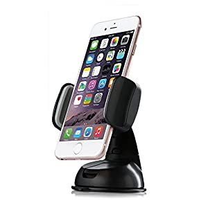 Coolreall Support Voiture pour iPhone, Samsung, LG, Nexus, Android / Windows phone, Compact Size GPS, iPod