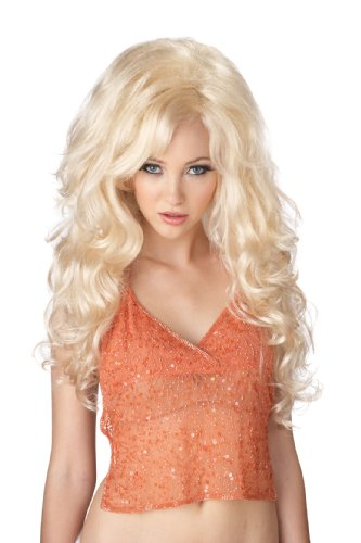 barbie blond bombshell wig