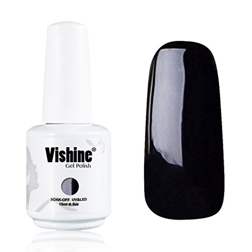 Vishine-Gelpolish-Professional-Manicure-Salon-UV-LED-Soak-Off-Gel-Nail-Polish-Varnish-Color-Black1348