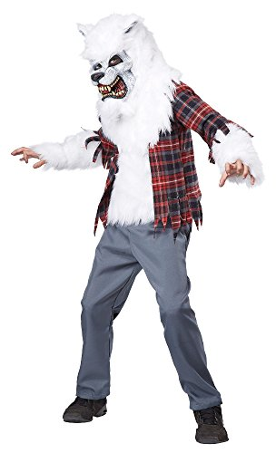 California Costumes White Werewolf Costume, One Color, 8-10