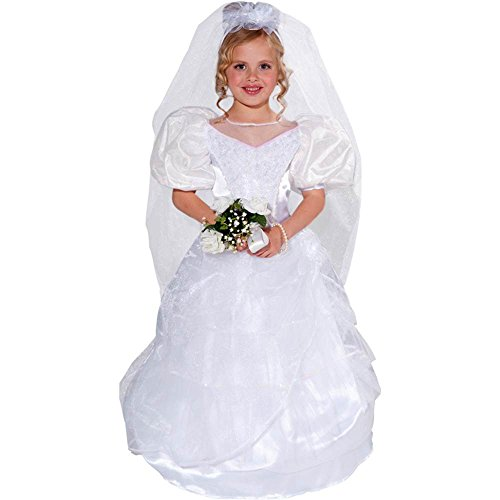 Wedding Bride Kids Costume