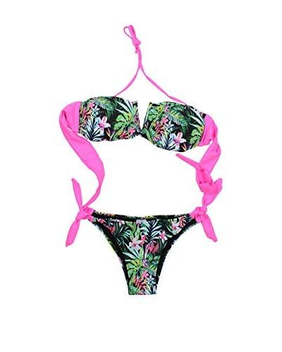 4giveness Bikini grün/pink