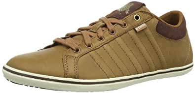 K-Swiss Mens Hof IV P VNZ Low-Top 03145-286-M Cowboy/Espresso/Antique White 7 UK, 41 EU