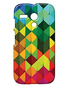 Pickpattern Back Cover for Motorola Moto G 1st Gen
