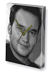 GARETH DAVID-LLOYD - Canvas Clock (LARGE A3 - Signed by the Artist) #js001