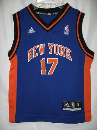 Buy Jeremy Lin New York Knicks Blue NBA Youth Revolution 30 Replica Jersey by adidas