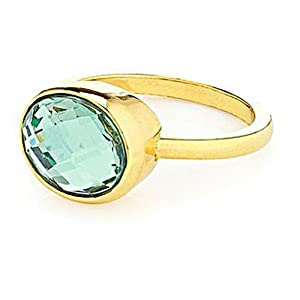 Juicy Couture - Light Green Gemstone - Solitaire Ring