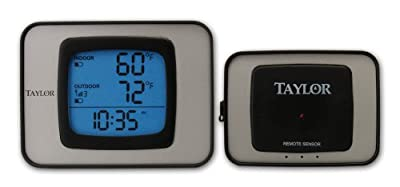 Taylor 1525 Wireless Indoor/Outdoor Thermometer With Hygrometer from TAYLOR