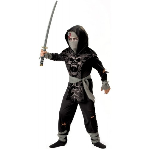 Dark Zombie Ninja Costume - Large