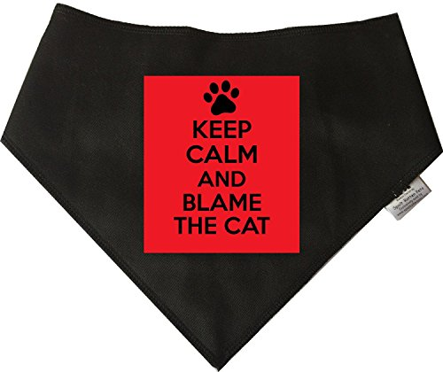 spoilt-rotten-pets-blame-the-cat-dog-bandana-adjustable-neck-to-fit-large-to-extra-large-dogs-neck-s