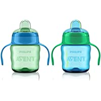 Phillips Avent Easy Sippy Cup 7 Oz - 2 Pack - Girl Colors