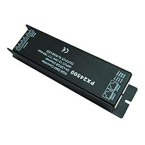 Wit-Lighting DMX 512 Decoder driver DMX512 PX24500 RGB controller for 12V 24V LED strip light