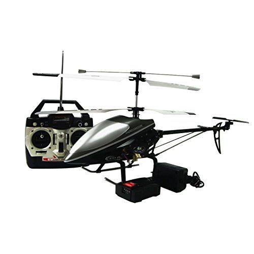 Azimporter Preschool Children Activity Playset 3Ch 9101 Co-Axial Remote Control Rc Helicopter With Built In Gyro Color Silver front-369865