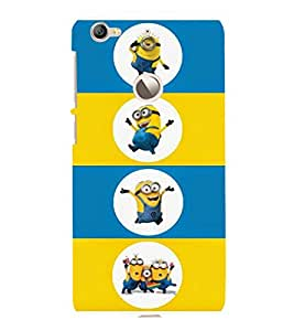 printtech Minions Back Case Cover for LeEco Le 1s