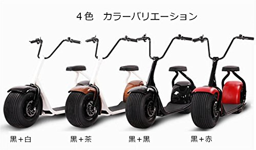 【 Smart bike 】SEE-V Scoota Electric bike 電動スクーター 電動バイク 走行距離 50km-80km レッド