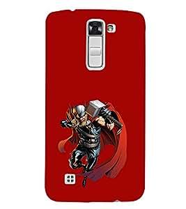 EPICCASE Thor the Asguardian Mobile Back Case Cover For LG K10 (Designer Case)