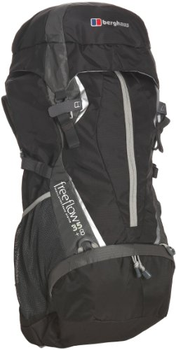 Berghaus Freeflow 35+8 Men's Backpack - Black/Grey, 35+8 lt