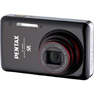 Pentax Optio 15921 14 MP Digital Camera with 5x Optical Zoom (Black)