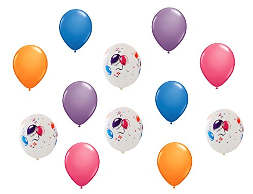 Generic Birthday Coordinating Latex Balloons - 1
