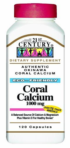 21st Century Coral Capsules mg de calcium 1000,