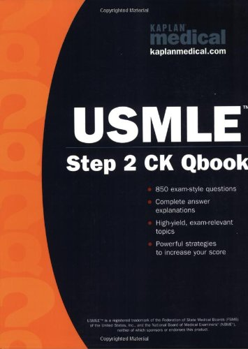 Kaplan Medical Usmle Step 2 Qbook (Kaplan Usmle Qbook) front-600787