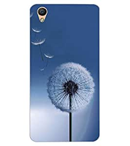 ColourCraft Amazing Flower Design Back Case Cover for OPPO F1 PLUS