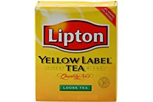 Lipton Yellow Label Loose Tea, 64-Ounce Boxes (Pack of 2)