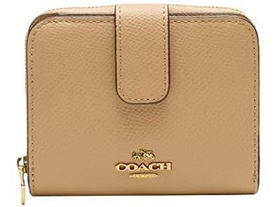 (コーチ) COACH 財布 サイフ 二つ折り財布 ヌードベージュ レザー PVC f52692imnud アウトレット ブランド 並行輸入品