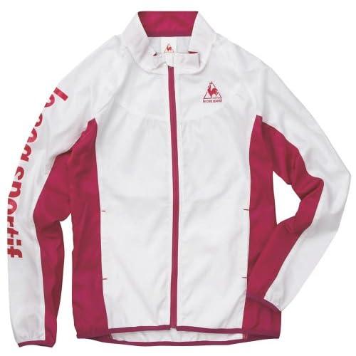 (ルコックスポルティフ)le coq sportif レディース クロスジャケット QC575331 WHT ホワイト S