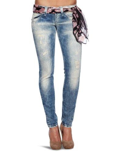 Fornarina Blanca Slim Women's Jeans Indigo Denim W30 Inxl31 In