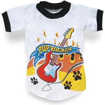 """""""Pup Rocker"""" Doggie T-Shirt (18"""")"""
