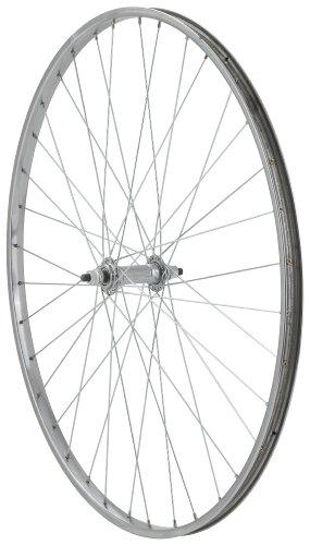 Avenir 36H Steel 27 Inch x 1-1/4 Inch Front Wheel, Silver