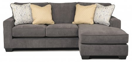 Small sectional sofa with chaise lounge home furniture for Ashley hodan sofa chaise