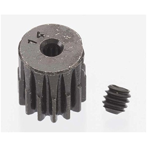 Hard Blackened Steel Mini Pinion 2mm, .5 Mod 14T