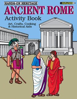 Edupress Ep-032 Activity Book Ancient Rome Gr 2-6