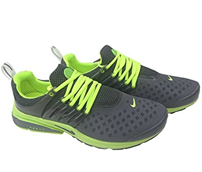 Nike Air Presto Carbon Grey Fluorescent Womens Size 6 Sneakers Trainers Shox Shoes