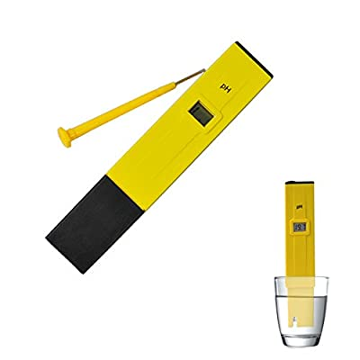 Water pH Test Pen pH Meter pH-009 Pen ATC pH Value Test Pen Tester Tds Tester 0-14 Pocket Aquarium
