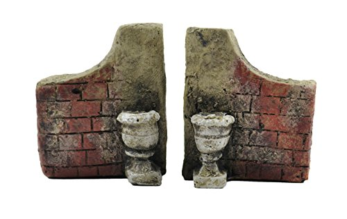 Touch Of Nature 2-Piece Miniature Garden Resin Stone Gate, 5-Inch