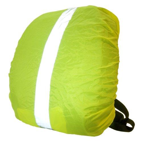 Wowow Bag Cover - Coprizaino riflettente impermeabile, taglia XL, colore giallo fluo