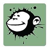 Monkey モンキー 猿 サル 動物 [10 cm] / 抜群の耐久性! 防水、耐油性 高品質プレミアム / アート ステッカー ウォールステッカー / 車 カー用品 バイク 壁 PC インテリア スーツケース ほとんど何にでも貼れる! ウィンドウ デカール シール 部屋 ノートPC ノートパソコン 【並行輸入品】