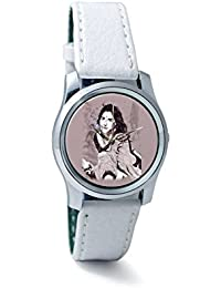 BigOwl Vidya Balan Painting Women's Analog Wrist Watch 2204826136-RS2-S-WHT